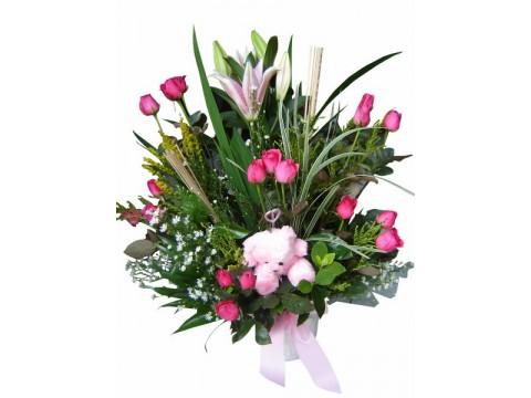 Pink in a Vase