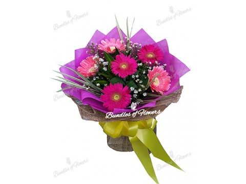 Gerberas Bouquet 01