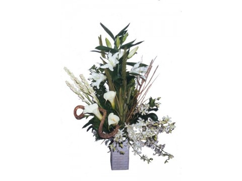 Whites in a Vase
