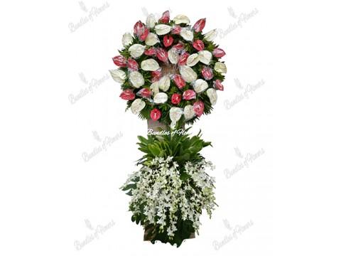 Funeral Wreath 09