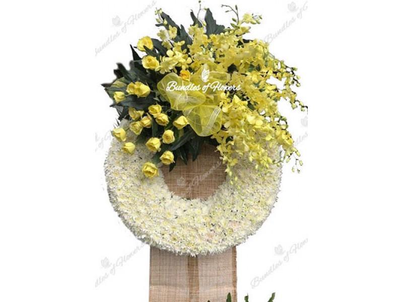 Funeral Wreath 10