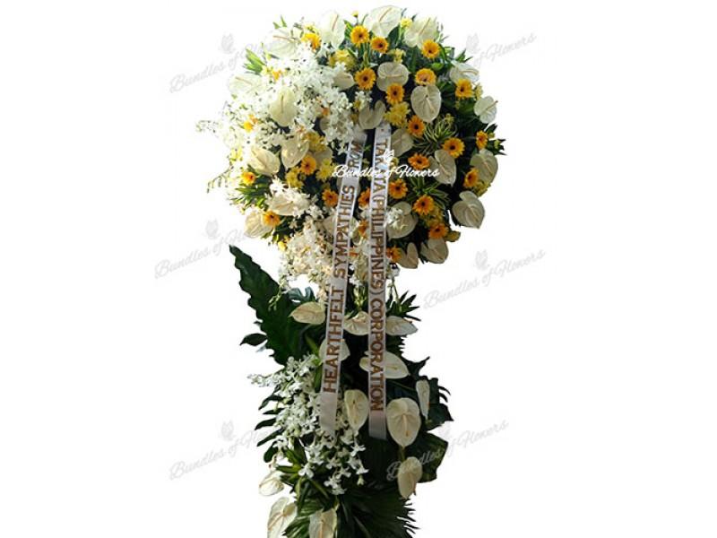 Funeral Wreath 11