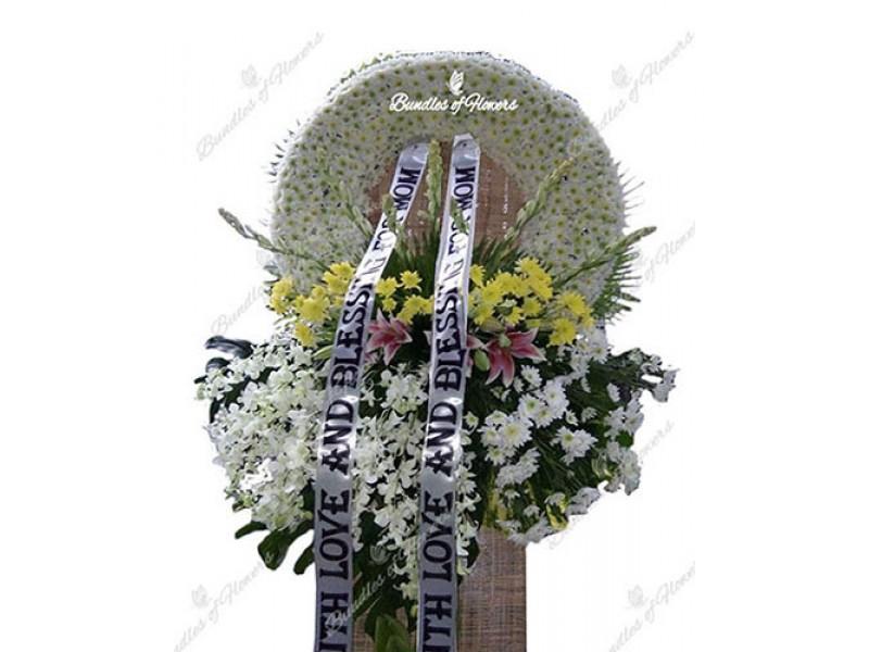 Funeral Wreath 08