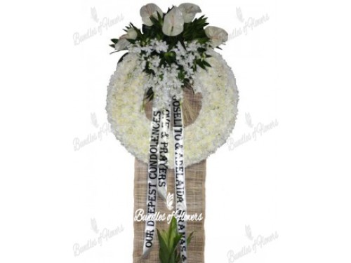 Funeral Wreath 04