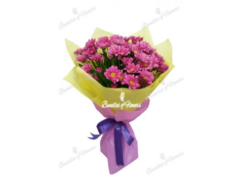 Mums Bouquet 05