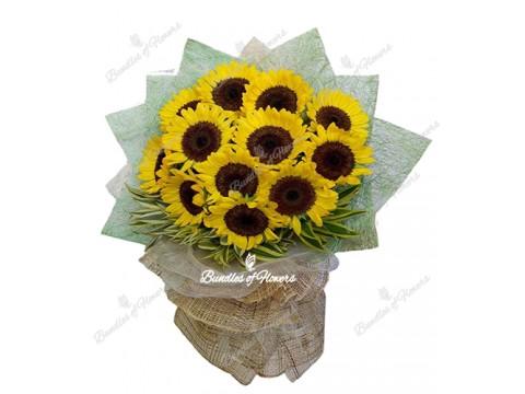 Sunflower Bouquet 01