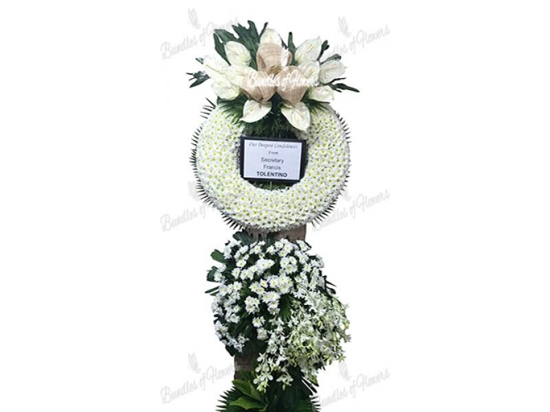 Funeral Wreath 25