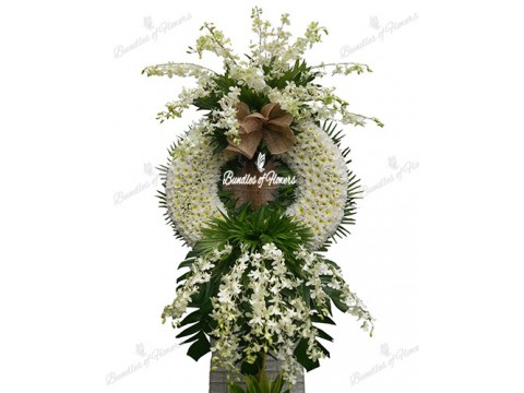 Funeral Wreath 07