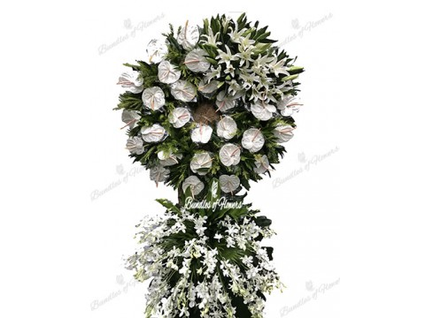 Funeral Wreath 12